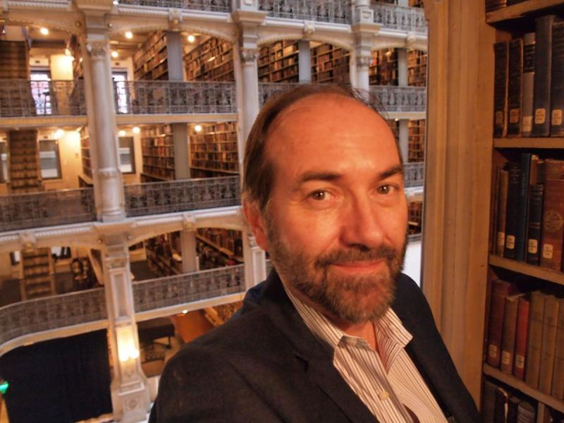 Randy Chase Yoder at George Peabody Library