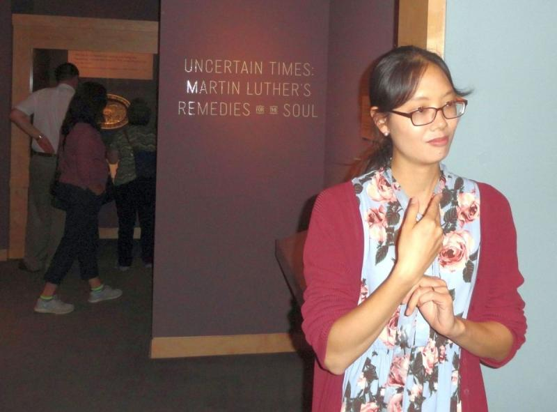 Yuna Han Presents Exhibit at Walters